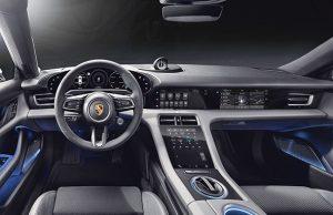 Porsche Taycan Kokpit