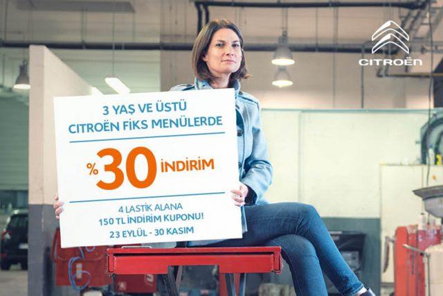 Citroen Bakım Kampanyası