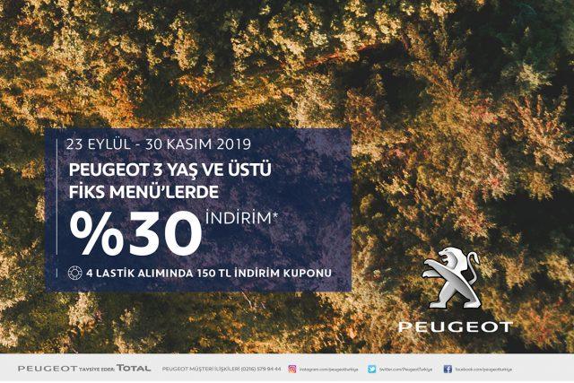 Peugeot Bakım Kampanyası
