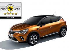 Renault CAPTUR EuroNCAP
