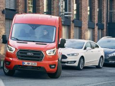 Ford Transit Active Park Assist