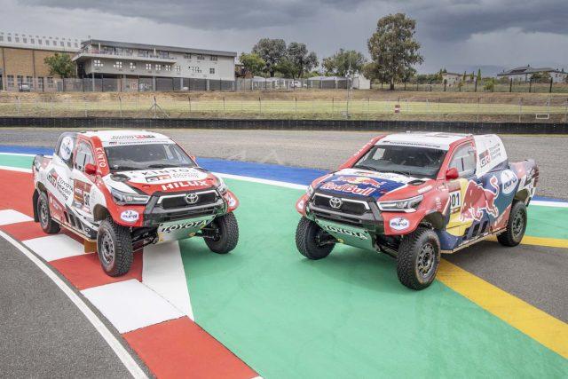 TOYOTA GAZOO Racing 2021 Dakar Rallisi