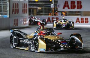 DS Automobiles at Rome E-Prix