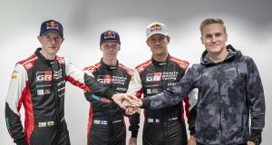 2022 TOYOTA GAZOO Racing WRC drivers
