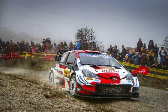 Toyota WRC İspanya